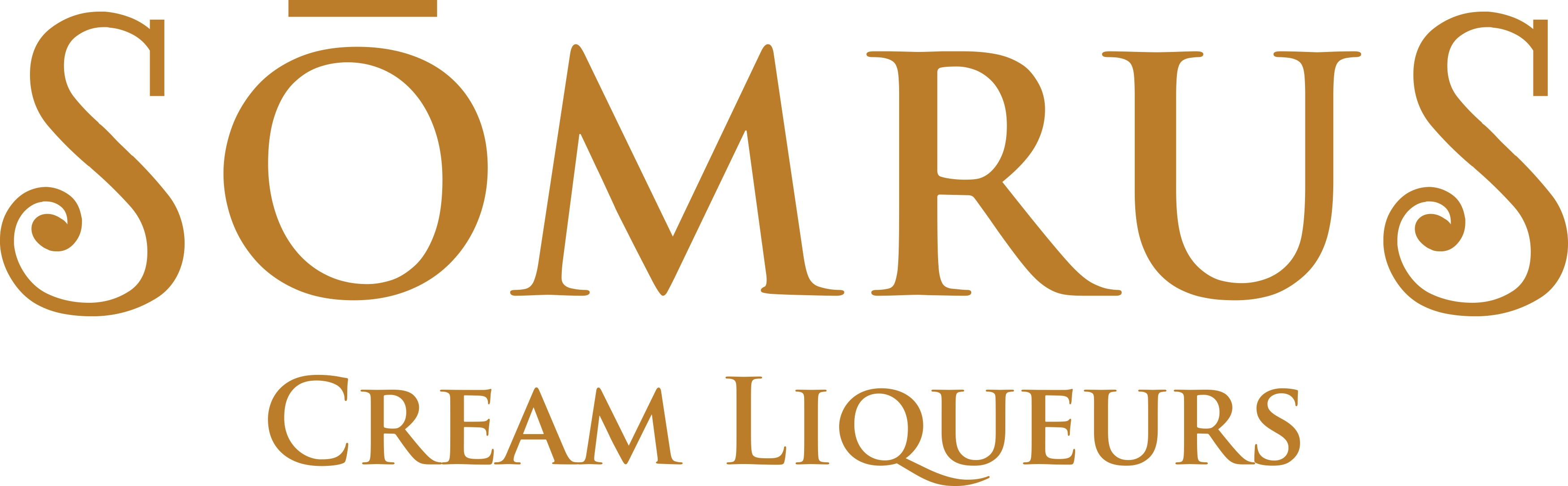 somrus cream liqueurs gold