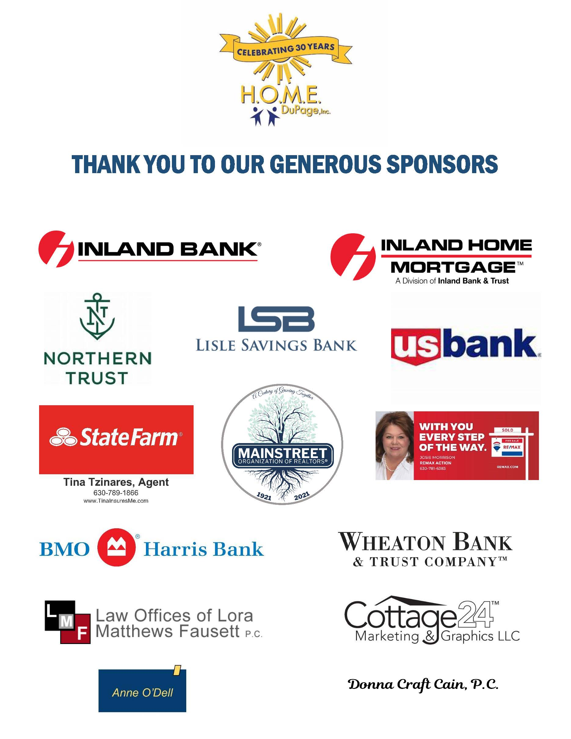 Thank you to sponsors.final